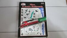 """Atlas Nine """"N"""" Scale Railroads Book #7 Level 2 From Z To No. 1 1994"""
