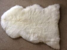 GENUINE SHEEPSKIN RUG - NATURAL (WHITE) - LARGE