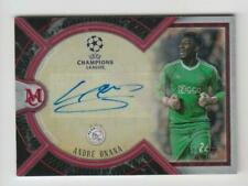 2018-19 Topps Champions League Museum Auto card :Andre Onana #25/25