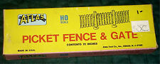 ATLAS - PICKET FENCE & GATE SET #776 - HO TRAIN