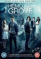 Hemlock Grove Complete Series 1 DVD All Episode First Season Original UK R2