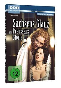 Sachsens Glanz und Preussens Gloria (DDR TV-Archiv) (3 DVDs) * NEU OVP