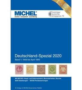 MICHEL Katalog Deutschland-Spezial 2020 Band 1 in Farbe-NEU