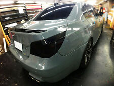 Painted BMW 04-10 E60 Sedan 5-series M5 type trunk spoiler