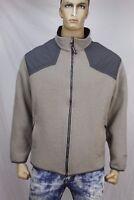 Blue label John Rich and Bros Woolrich  Men's wool-nylon zip fleece jacket US XL