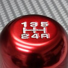 JDM Red 5 Speed Manual Type-R Aluminum Gear Stick Shift Shifter Knob Universal 3
