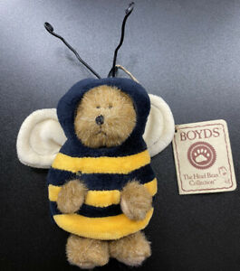 Boyd's Bears Mini Peeker Bear Junebeary QVC Exclusive June Month Bear