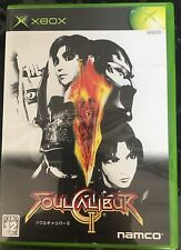 Soul Calibur 2 Xbox Video Game Japan Import