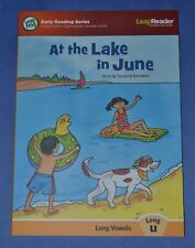 At the Lake in June, Long Vowels - Long u-book for Leap Reader-combined shipping