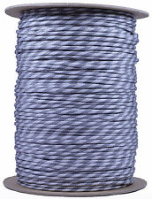 Greyscale - 550 Paracord Rope 7 strand Parachute Cord - 1000 Foot Spool