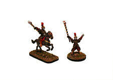 28 mm Pro-pintado clásico fantasía mágica-malvado hechicero señores Set-FL20-2 Miniatures