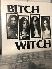BITCH WITCH - BITCH WITCH VINYL LP LTD. To 566-PUNK / HEAVY METAL