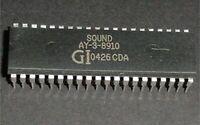1X AY-3-8910A - DIP 40 - Generador Sonido Programable