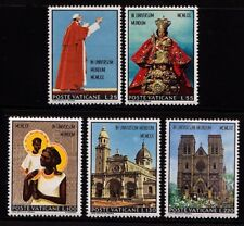 VATICAN CITY -1970- Pope Paul Visits Far East & Australia - MNH - Sc.#495-99