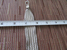 "15""long Universal Automotive Ground Strap 3/4"" Tinned Braid with 5/16"" terminals"