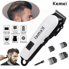 KEMEI Pro Electric Hair Clipper Mens Hair Trimmer Hair Cutting Shaver Machine US
