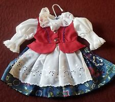 Gorgeous Vintage Doll Dress - Dropped price again.