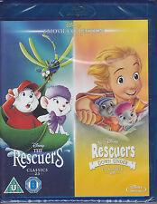 The Rescuers + The Rescuers Down Under  New & Sealed Disney UK Blu-ray