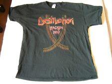DESTRUCTION – rare old 2007 Wacken T-Shirt!!! 10 Years Old!!! thrash metal