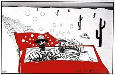 Ralph Steadman Poster Fear and Loathing British Cartoonist Dorm Decor New Funny!