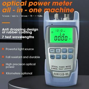 AUA-9A All-IN-ONE Optical Power Meter Visual Fault Locator Optical Fiber Tester