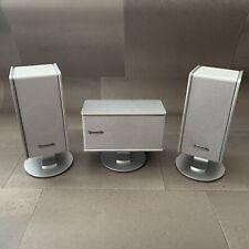 Panasonic SB-FS801A (x2) y SB-PC801A Sistema De Altavoces Home Cinema Sonido Envolvente