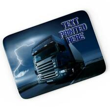 Personalised Lorry Truck Mouse Mat Pad Computer Gaming Driver Gift Him Boy LB004