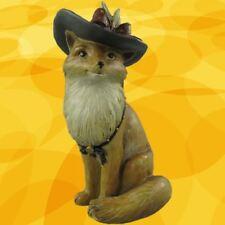 Figur Fox  Polystein farbig H.25x13cm Party Geschenk Dekoration Fuchs Standfigur