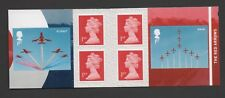 GB 2018 RED ARROWS/ RAF CENTENARY STAMP BOOKLET