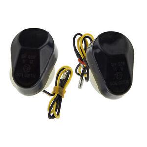 Flush Mount Smoke For Yamaha YZF R6 R1 Light 600R FZ1 LED Turn Signal Marker
