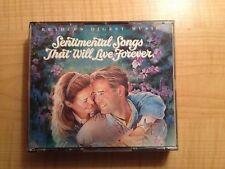 Reader's Digest Sentimental Songs That Will Live Forever 4 CD Set