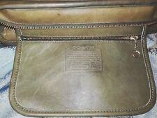 Vintage Coach Crossbody Purse Grayish Blue Leather Zipper Closure Shoulder X