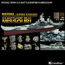 LionRoar PE Photo-Etched 1/350 WWII US Battleship BB-63 MISSOURI RS3502
