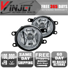 Fits 12-13 Toyota Tacoma OE Fog Lights Clear Lens Lamps Wiring Kit Included