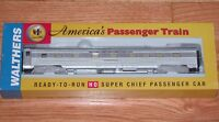 WALTHERS 932-9005 P-S 4-4-2 SLEEPER SANTA FE SUPER CHIEF INDIAN NAME SERIES