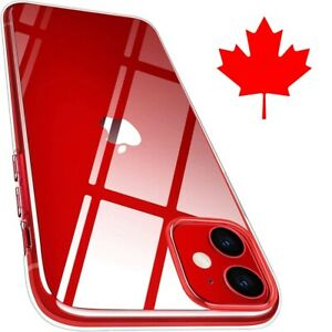 For iPhone 13 12 11 8 7 6 Pro Max Mini XS- Superior Clear Gel Case- Best Quality
