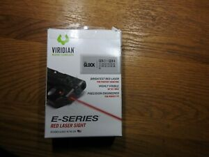 Viridian E Series Red Laser Sight for Glock 22/23/17/19/26/27