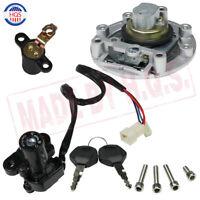 Ignition Switch Gas Cap Seat Lock Key Set For Yamaha MT03 MT-09 YZF R6 FJR1300