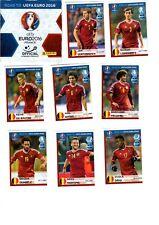 50 verschiedene Panini Sticker Road to Euro 2016