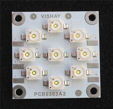 5 X Vishay VLPC0303A2 LED Linear Array 9 White LEDs 25 Watts 10v/row