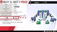 ✨ Shiny Regigigas ✨ Legendary Pokemon Sword and Shield Perfect IV Pokémon