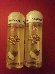 TWO PACK FANTASIA IC HAIR POLISHER SHEA BUTTER OIL HYDRATES  REPAIRS