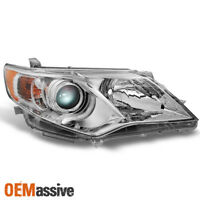 TOYOTA 2012-2014 CAMRY JDM CHROME LED ALTEZZA TAIL BRAKE LIGHTS LE SE XLE HYBRID