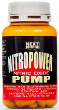 Pre Workout Power Pump ! Stimolante Ossido Nitrico 120 cpr con Arginina