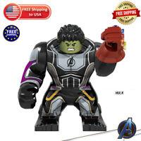 Marvel Avengers 4: Endgame Super Heroes Lego HULK Figures Building blocks Toys