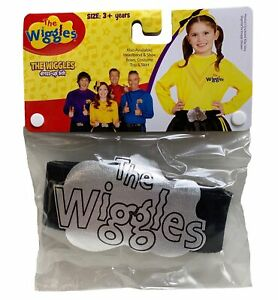 Emma The Wiggles Yellow Book Week Toddler Girls Costume Black Belt 3 Years & Up