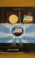 2008 NCAA Men's Basketball Final Four San Antonio official Program