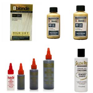 salon pro hair EXTENSION  bonding glue & remover KIT shampo lotion Bblonde VoL