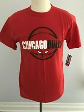Chicago Bulls T-Shirt - SZ: M - Red - NBA Basketball - NEW w/ Tags