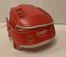 Vintage Rare Cooper SK100 Hockey Hurling Helmet Red Skateboard